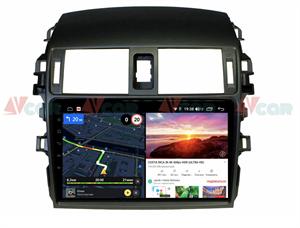 Штатная магнитола VAYCAR 09V6 для Toyota Corolla X (E140, E150) 2006-2013 на Android 10.0