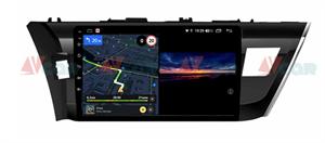 Штатная магнитола VAYCAR 10V3 для Toyota Corolla XI 2013-2015 на Android 10.0