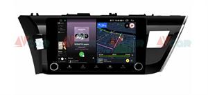 Штатная магнитола VAYCAR 10V4R для Toyota Corolla XI 2013-2015 на Android 10.0