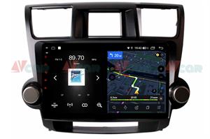 Штатная магнитола VAYCAR 10V4 для Toyota Highlander (U40) 2007-2013 на Android 10.0