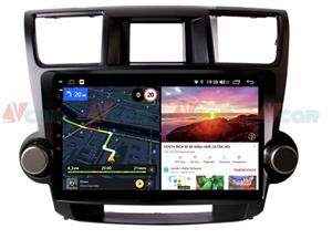 Штатная магнитола VAYCAR 10V6 для Toyota Highlander (U40) 2007-2013 на Android 10.0