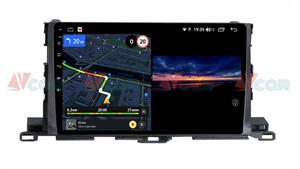 Штатная магнитола VAYCAR 10V3 для Toyota Highlander (U50) 2014-2018 на Android 10.0