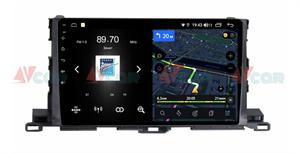 Штатная магнитола VAYCAR 10V4 для Toyota Highlander (U50) 2014-2018 на Android 10.0