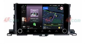 Штатная магнитола VAYCAR 10V4R для Toyota Highlander (U50) 2014-2018 на Android 10.0