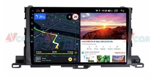 Штатная магнитола VAYCAR 10V6 для Toyota Highlander (U50) 2014-2018 на Android 10.0