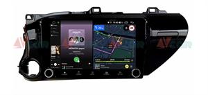 Штатная магнитола VAYCAR 10V4R для Toyota Hilux VIII 2015-2020 на Android 10.0