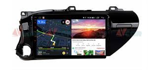 Штатная магнитола VAYCAR 10V6 для Toyota Hilux VIII 2015-2020 на Android 10.0