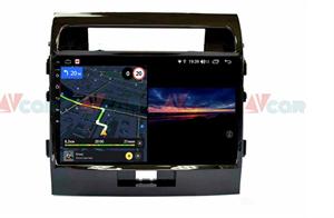 Штатная магнитола VAYCAR 10V3 для Toyota Land Cruiser 200 2007-2015 на Android 10.0