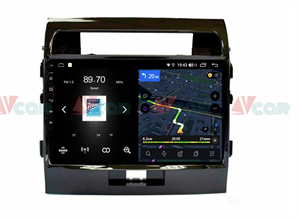 Штатная магнитола VAYCAR 10V4 для Toyota Land Cruiser 200 2007-2015 на Android 10.0
