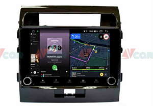 Штатная магнитола VAYCAR 10V4R для Toyota Land Cruiser 200 2007-2015 на Android 10.0