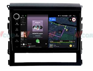 Штатная магнитола VAYCAR 09V4R для Toyota Land Cruiser 200 2016+ на Android 10.0
