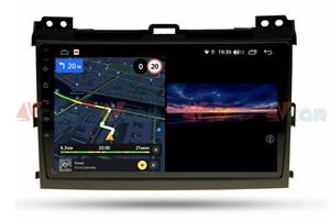 Штатная магнитола VAYCAR 09V3 для Toyota Land Cruiser Prado 120 2002-2009 на Android 10.0