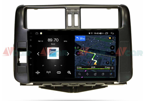 Штатная магнитола VAYCAR 09V4 для Toyota Land Cruiser Prado 150 2009-2013 на Android 10.0
