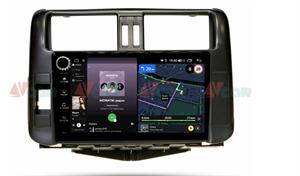 Штатная магнитола VAYCAR 09V4R для Toyota Land Cruiser Prado 150 2009-2013 на Android 10.0