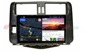 Штатная магнитола VAYCAR 09V6 для Toyota Land Cruiser Prado 150 2009-2013 на Android 10.0