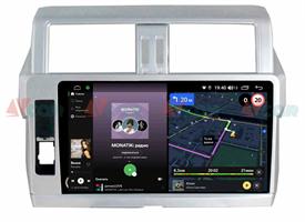 Штатная магнитола VAYCAR 10V4R для Toyota Land Cruiser Prado 150 2013-2017 на Android 10.0
