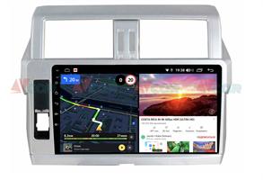 Штатная магнитола VAYCAR 10V6 для Toyota Land Cruiser Prado 150 2013-2017 на Android 10.0