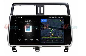 Штатная магнитола VAYCAR 10V4 для Toyota Land Cruiser Prado 150 2017-2020 на Android 10.0