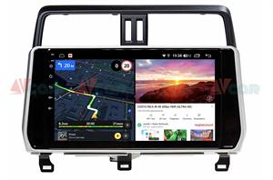 Штатная магнитола VAYCAR 10V6 для Toyota Land Cruiser Prado 150 2017-2020 на Android 10.0