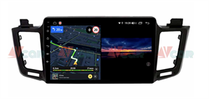 Штатная магнитола VAYCAR 10V3 для Toyota RAV4 (CA40) 2013-2019 на Android 10.0