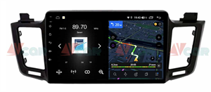 Штатная магнитола VAYCAR 10V4 для Toyota RAV4 (CA40) 2013-2019 на Android 10.0