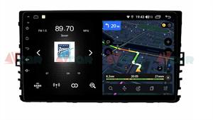 Штатная магнитола VAYCAR 09V4 для VW Universal 081 на Android 10.0