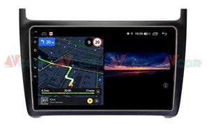 Штатная магнитола VAYCAR 09V3 для Volkswagen Polo 5 2009-2019 на Android 10.0