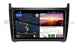 Штатная магнитола VAYCAR 09V6 для Volkswagen Polo 5 2009-2019 на Android 10.0