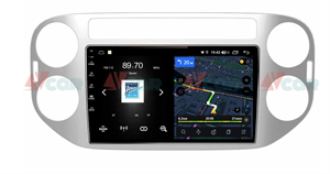 Штатная магнитола VAYCAR 09V4 для Volkswagen Tiguan 2011-2016 на Android 10.0
