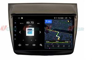 Штатная магнитола VAYCAR 09V4 для Mitsubishi Pajero Sport II, L200 IV 2006-2015 на Android 10.0