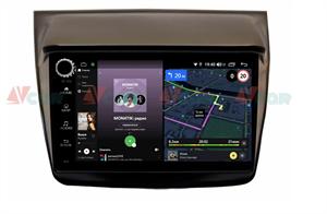Штатная магнитола VAYCAR 09V4R для Mitsubishi Pajero Sport II, L200 IV 2006-2015 на Android 10.0