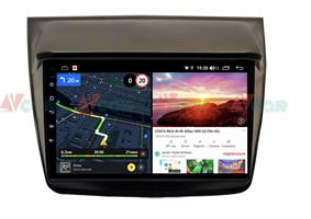 Штатная магнитола VAYCAR 09V6 для Mitsubishi Pajero Sport II, L200 IV 2006-2015 на Android 10.0