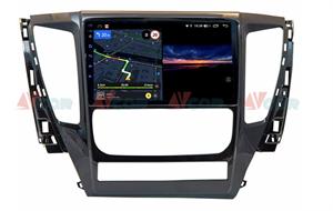 Штатная магнитола VAYCAR 09V3 для Mitsubishi Pajero Sport III, L200 V 2015-2019 на Android 10.0