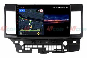 Штатная магнитола VAYCAR 10V3 для Mitsubishi Lancer X 2007-2019 на Android 10.0