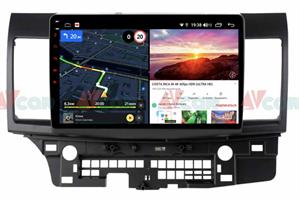 Штатная магнитола VAYCAR 10V6 для Mitsubishi Lancer X 2007-2019 на Android 10.0