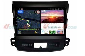 Штатная магнитола VAYCAR 09V6 для Mitsubishi Outlander II (XL) 2006-2012 на Android 10.0
