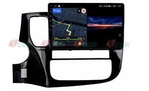 Штатная магнитола VAYCAR 10V3 для Mitsubishi Outlander III 2013-2020 на Android 10.0
