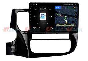 Штатная магнитола VAYCAR 10V4 для Mitsubishi Outlander III 2013-2020 на Android 10.0
