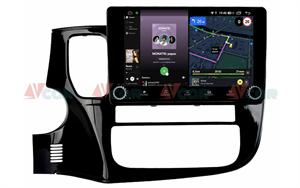 Штатная магнитола VAYCAR 10V4R для Mitsubishi Outlander III 2013-2020 на Android 10.0