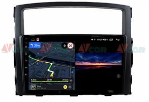Штатная магнитола VAYCAR 09V3 для Mitsubishi Pajero IV 2006-2019 на Android 10.0