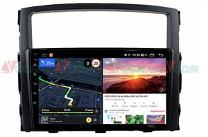 Штатная магнитола VAYCAR 09V6 для Mitsubishi Pajero IV 2006-2019 на Android 10.0