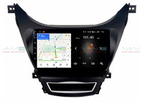 Штатная магнитола VAYCAR 09L для Hyundai Elantra 2011-2014 на Android 8.1
