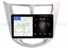 Штатная магнитола VAYCAR 09L для Hyundai Solaris I 2011-2017 на Android 8.1