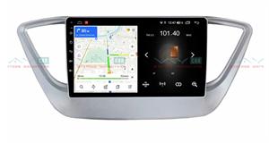 Штатная магнитола VAYCAR 09L для Hyundai Solaris II 2017-2020 на Android 8.1