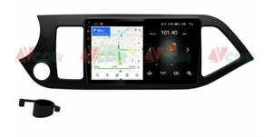 Штатная магнитола VAYCAR 09L для Kia Picanto II 2011-2016 на Android 8.1