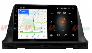 Штатная магнитола VAYCAR 10LD 1DIN для Kia Seltos 2019-2021 на Android 8.1