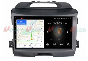 Штатная магнитола VAYCAR 09L для KIA Sportage III 2010-2016 на Android 8.1