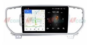 Штатная магнитола VAYCAR 09L для KIA Sportage IV 2016-2018 на Android 8.1
