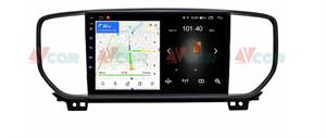 Штатная магнитола VAYCAR 09L для KIA Sportage IV 2018-2020 на Android 8.1