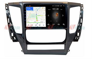 Штатная магнитола VAYCAR 09L для Mitsubishi Pajero Sport III, L200 V 2015-2019 на Android 8.1